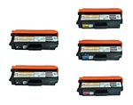 Remanufacture Brother TN331-TN336 5-Pack Laser Toner Cartridge Set
