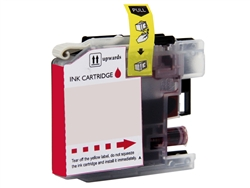 Replaces Brother LC103M - Compatible Magenta High Yield Ink Cartridge