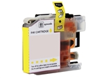 Replaces Brother LC103Y - Compatible Yellow High Yield Ink Cartridge