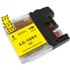 Replaces Brother LC105Y - Compatible Yellow Super High Yield Ink Cartridge