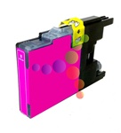 Compatible Brother LC75M Magenta High Yield Ink Cartridge