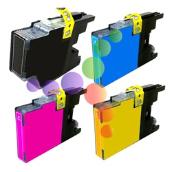 Brother LC79 4-Color  Extra High Yield Ink Cartridge Set