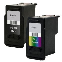 Compatible Canon PG-240, CL-241 Ink Cartridges Set