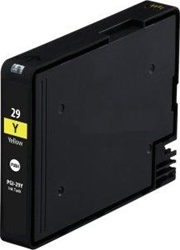 Replaces Canon PGI29Y (PGI-29Y) - Compatible Yellow Ink Cartridge for PIXMA PRO 1