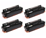 Canon 046H High Capacity Toner Cartridges 4Pack 1254C001 1253C001 1252C001 1251C001