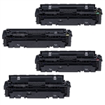 Canon 046 High Yield Toner Cartridges Set - 1251C002 1252C002 1253C002 1254C002