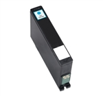 Replaces Dell 331-7378 (Series 33) - Remanufactured for Extra-Cyan High Capacity Ink Cartridge for Dell All-in-One V525w, V725w
