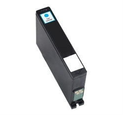 Replaces Dell 331-7381 (Series 32) - Remanufactured Cyan High Capacity Ink Cartridge for Dell All-in-One V525w, V725w