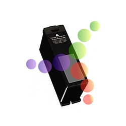Remanufactured Dell T105N Black Ink Cartridge