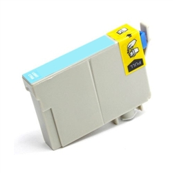 Remanufactured Epson T464011 Light Cyan Ink Cartridge