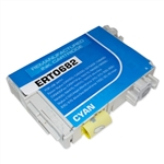 Remanufactured Epson T068220 Cyan Ink Cartridge