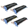 Remanufactured HP 1600, 2600, 2605 4-Color Toner Cartridge Set