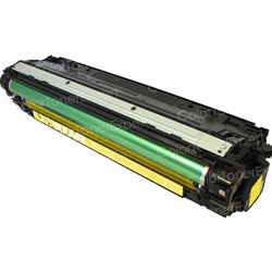 Remanufactured HP CE742A Yellow Laser Toner Cartridge