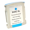 Remanufactured HP 940XL C4907AN Cyan Ink Cartridge