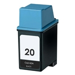 Remanufactured HP C6614DN HP 20 Black Ink Cartridge
