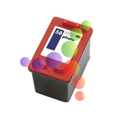 Remanufactured HP C6658AN Photo Ink Cartridge