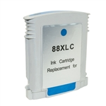 Remanufactured HP C9391AN Cyan Ink Cartridge