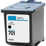 Remanufactured HP CC635A Black Ink Cartridge