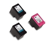 Remanufactured HP 901 3-Pack Ink Cartridge Set