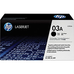 HP C3903A (03A) OEM Black Laser Toner Cartridge