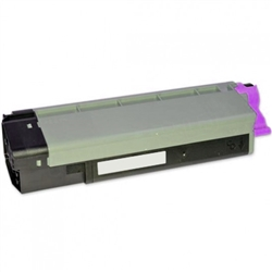 Remanufactured Okidata 43324475 Magenta Laser Toner Cartridge