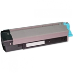 Remanufactured Okidata 43324476 Cyan Laser Toner Cartridge