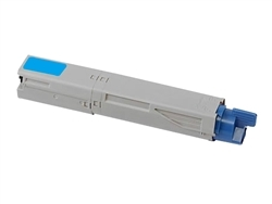 Compatible Okidata 44059111 Cyan Laser Toner Cartridge