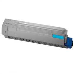 Replaces Okidata 44059215 - Compatible Cyan Laser Toner Cartridge for MC860