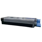 Remanufactured Okidata 43866101 Yellow Laser Toner Cartridge