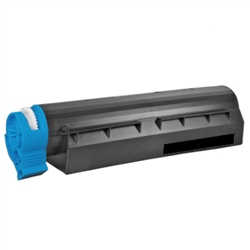 Remanufactured Okidata 43866104 Black Laser Toner Cartridge