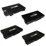 4-Color Compatible Laser Toner Set for Samsung CLP-510
