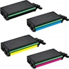 4-Color Compatible Laser Toner Set for Samsung CLP-770ND