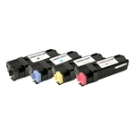 Remanufactured 4-Color Laser Toner Set for Xerox Phaser 6128