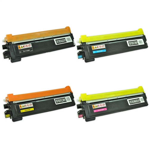 TN210Y SuppliesOutlet Compatible Toner Cartridge Replacement for Brother TN210 TN-210Y Yellow,1 Pack