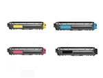 Remanufactured Brother TN225 4-Color Toner Cartridge Set
