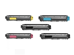 Remanufactured Brother TN225 5-Pack Laser Toner Cartridge Set