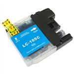 Brother Compatible LC105C Cyan Super High Yield Ink Cartridge
