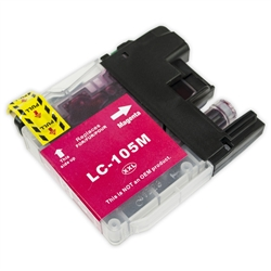 Brother Compatible LC105M Magenta Super High Yield Ink Cartridge