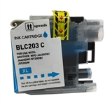 Compatible Brother LC203C Cyan Ink Cartridge - Replacement Ink Cartridge for MFC-J4320DW. MFC-J4420DW, MFC-J4620DW, MFC-J5520DW, MFC-J5620DW, MFC-J5720DW