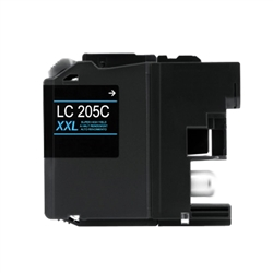 Brother LC205C Cyan Ink Cartridge