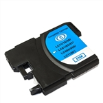 Compatible Brother LC61C Cyan Ink Cartridge