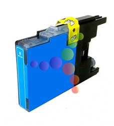 Compatible Brother LC75C Cyan High Yield Ink Cartridge