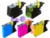 Compatible Brother LC75 5-Pack Ink Cartridge Set