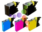 Brother LC79 5-Pack Extra High Yield Ink Cartridge Set