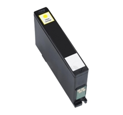 Replaces Dell 331-7380 (Series 33) - Remanufactured for Extra-Yellow High Capacity Ink Cartridge for Dell All-in-One V525w, V725w
