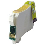 Remanufactured Epson T124420 Moderate Yield Yellow Ink Cartridge
