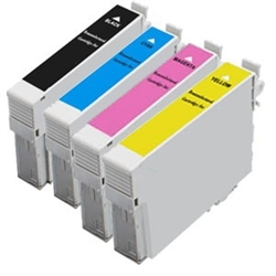 Remanufactured Epson T200XL 4-Color Ink Cartridge Set