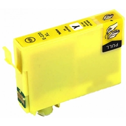 Epson 220XL (T220XL420) Ultra Yellow High-Yield Ink Remanufactured Cartridge