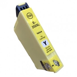 Epson T252320 (T252XL) Yellow High Yield Ink Remanufactured Cartridge