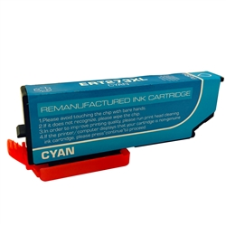 Compatible Epson 273XL High Yield Cyan Ink Cartridge